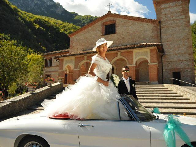 Il matrimonio di Donato e Michela a Montefortino, Fermo 7