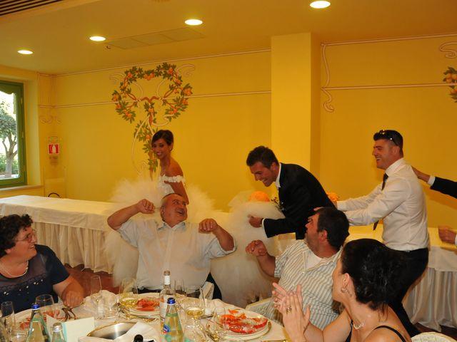 Il matrimonio di Donato e Michela a Montefortino, Fermo 10