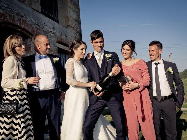 Il matrimonio di Alberto e Stefania a Vidor, Treviso 95