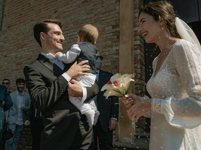 Il matrimonio di Matteo e Lara a Gazzola, Piacenza 31