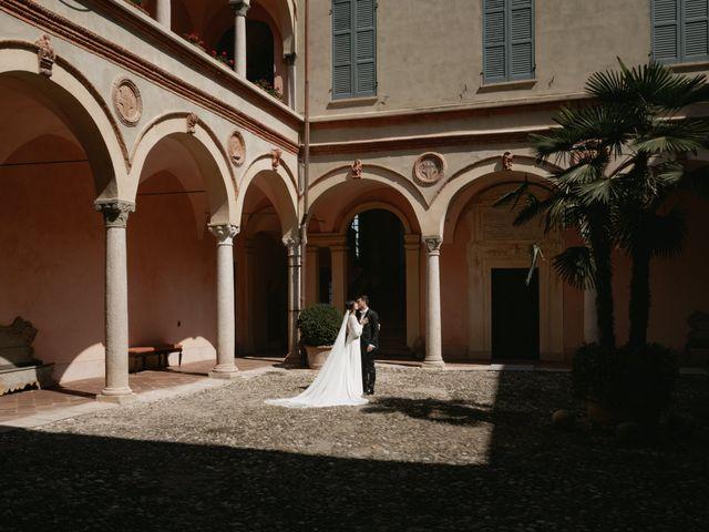 Il matrimonio di Matteo e Lara a Gazzola, Piacenza 40