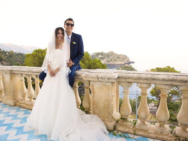 Il matrimonio di Simone e Manuela a Taormina, Messina 33