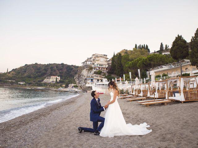 Il matrimonio di Simone e Manuela a Taormina, Messina 37