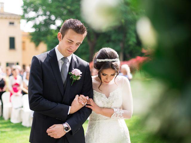 le nozze di Aline e Tiago