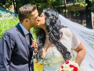 Le nozze di Wissal e Antonio
