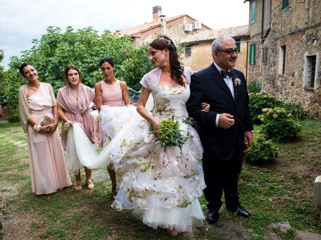 Il matrimonio di Claudio e Alba a Civitella Paganico, Grosseto 17