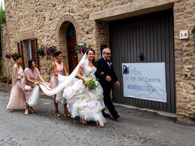 Il matrimonio di Claudio e Alba a Civitella Paganico, Grosseto 18