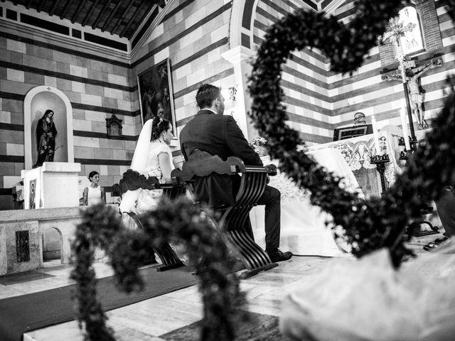 Il matrimonio di Claudio e Alba a Civitella Paganico, Grosseto 22