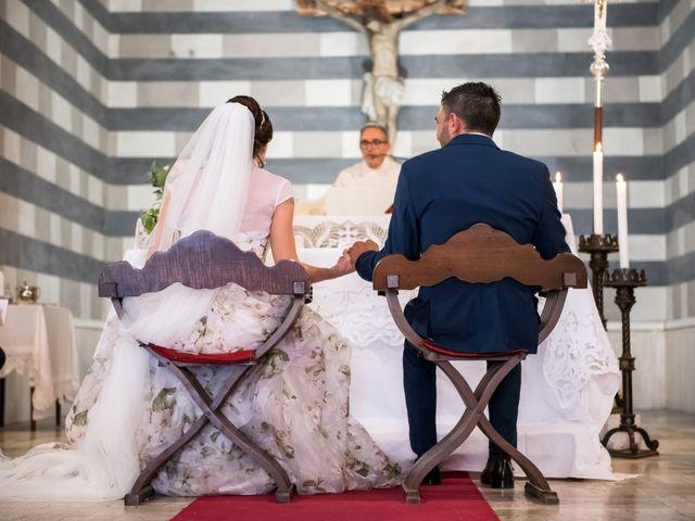 Il matrimonio di Claudio e Alba a Civitella Paganico, Grosseto 23