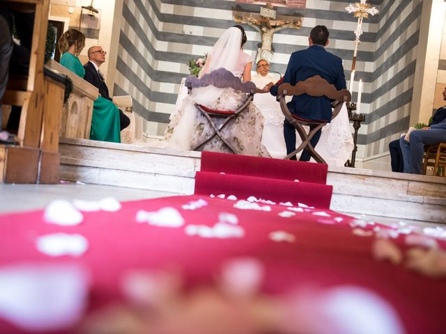Il matrimonio di Claudio e Alba a Civitella Paganico, Grosseto 24