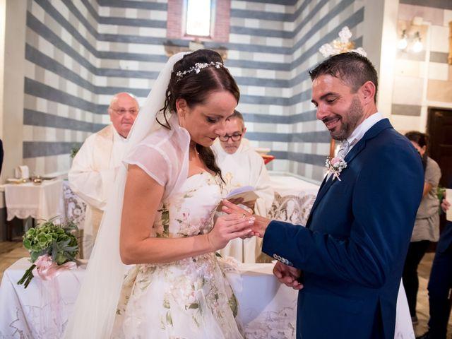 Il matrimonio di Claudio e Alba a Civitella Paganico, Grosseto 28