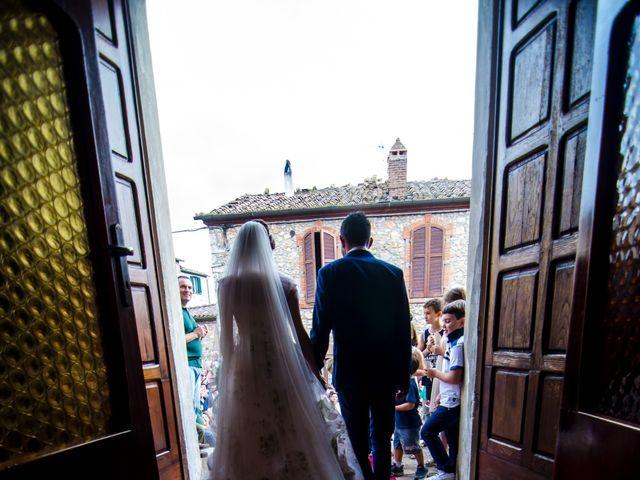 Il matrimonio di Claudio e Alba a Civitella Paganico, Grosseto 32