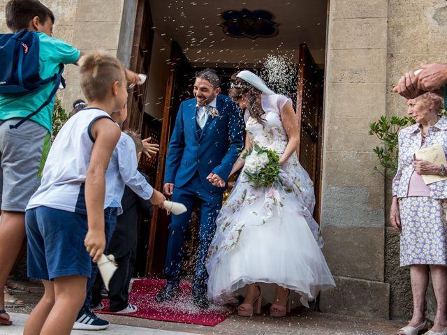 Il matrimonio di Claudio e Alba a Civitella Paganico, Grosseto 33
