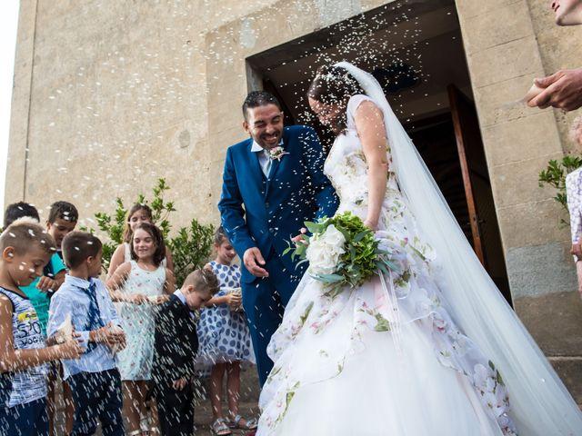 Il matrimonio di Claudio e Alba a Civitella Paganico, Grosseto 34