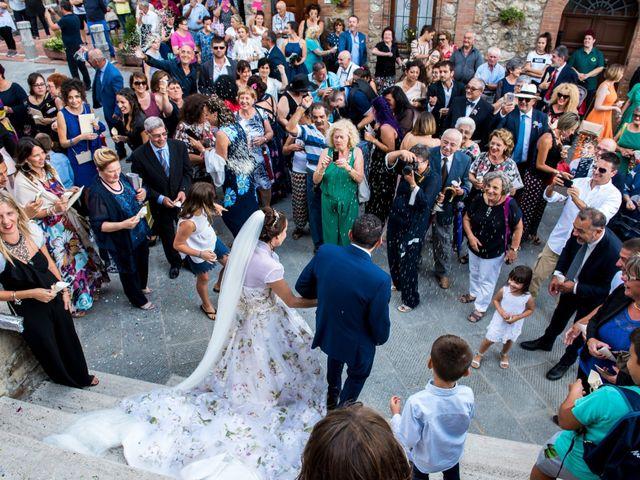 Il matrimonio di Claudio e Alba a Civitella Paganico, Grosseto 35