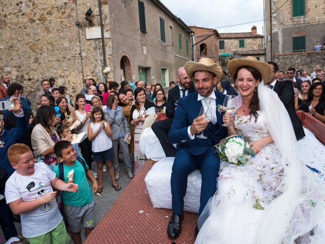 Il matrimonio di Claudio e Alba a Civitella Paganico, Grosseto 37