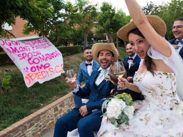 Il matrimonio di Claudio e Alba a Civitella Paganico, Grosseto 39