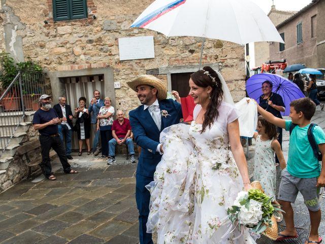 Il matrimonio di Claudio e Alba a Civitella Paganico, Grosseto 41