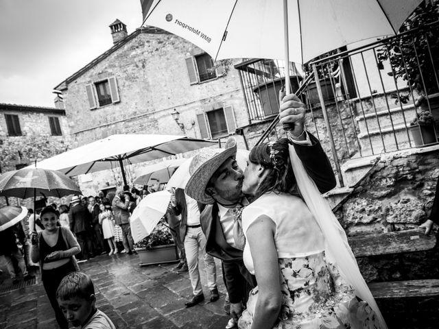 Il matrimonio di Claudio e Alba a Civitella Paganico, Grosseto 43