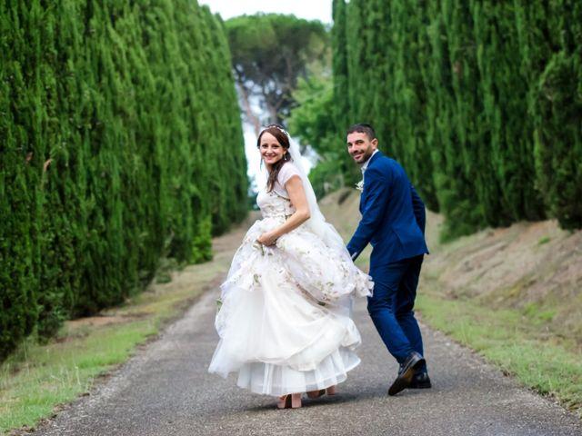 Il matrimonio di Claudio e Alba a Civitella Paganico, Grosseto 44