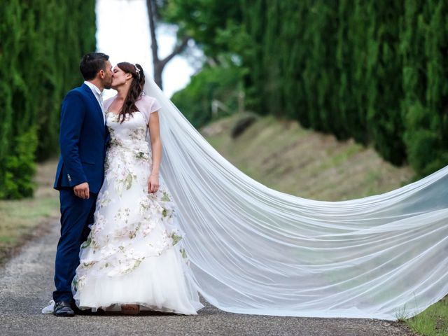 Il matrimonio di Claudio e Alba a Civitella Paganico, Grosseto 45