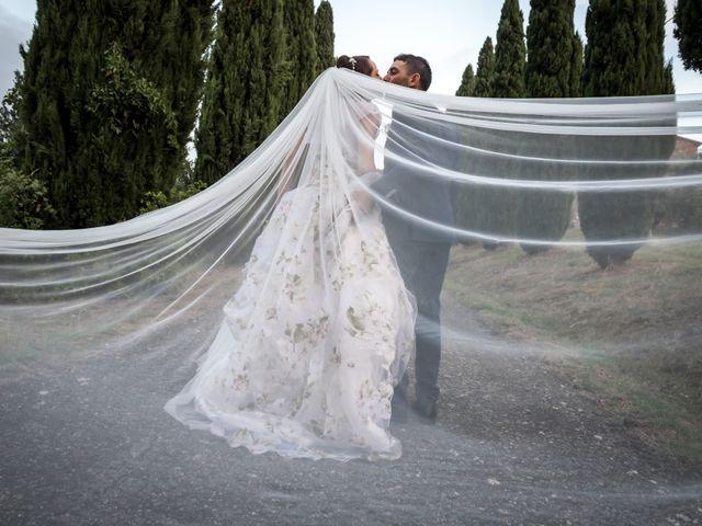 Il matrimonio di Claudio e Alba a Civitella Paganico, Grosseto 47
