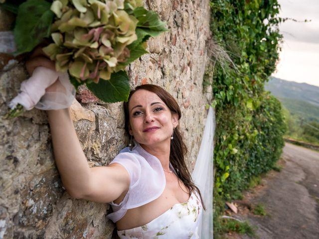 Il matrimonio di Claudio e Alba a Civitella Paganico, Grosseto 50