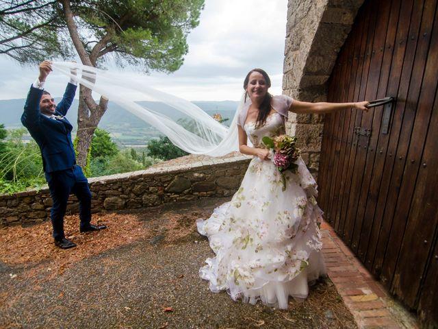 Il matrimonio di Claudio e Alba a Civitella Paganico, Grosseto 51
