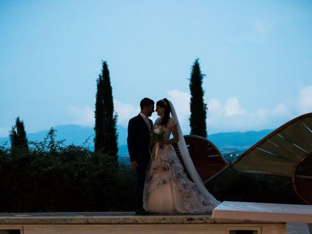 Il matrimonio di Claudio e Alba a Civitella Paganico, Grosseto 55