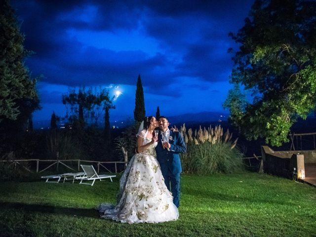 Il matrimonio di Claudio e Alba a Civitella Paganico, Grosseto 56