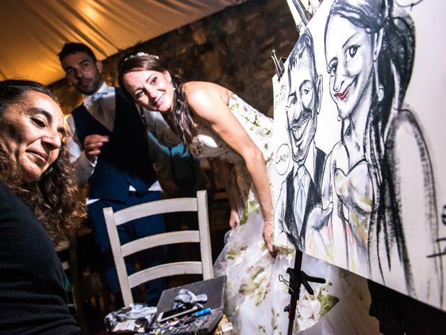 Il matrimonio di Claudio e Alba a Civitella Paganico, Grosseto 64