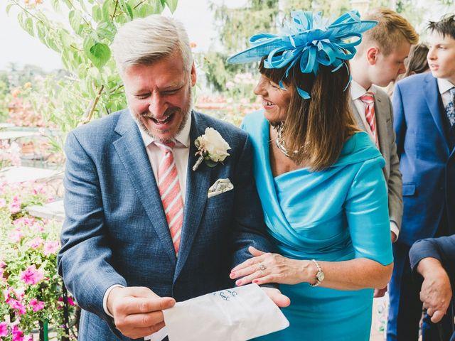 Il matrimonio di David e Kerri a Dozza, Bologna 48