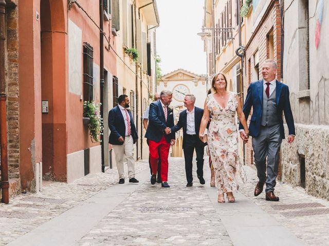 Il matrimonio di David e Kerri a Dozza, Bologna 51