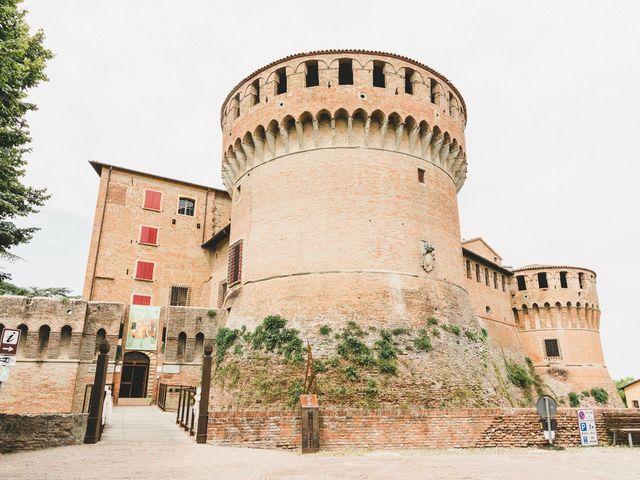 Il matrimonio di David e Kerri a Dozza, Bologna 53