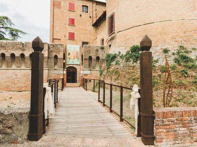 Il matrimonio di David e Kerri a Dozza, Bologna 54