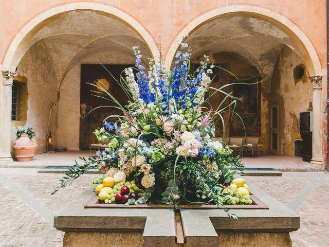 Il matrimonio di David e Kerri a Dozza, Bologna 56