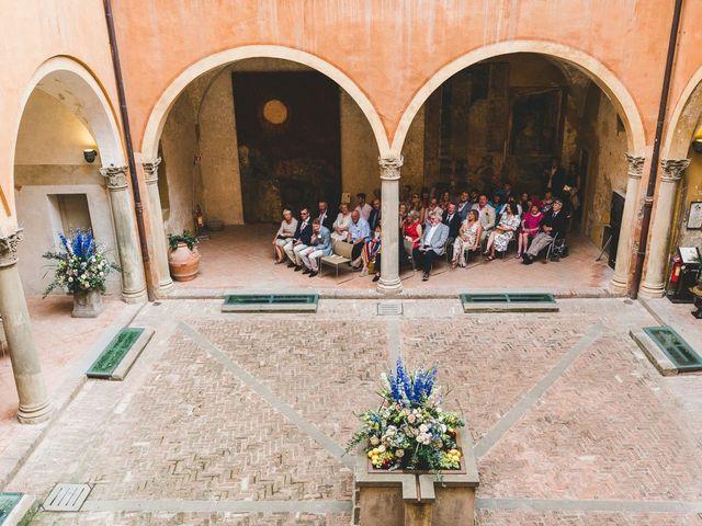 Il matrimonio di David e Kerri a Dozza, Bologna 61