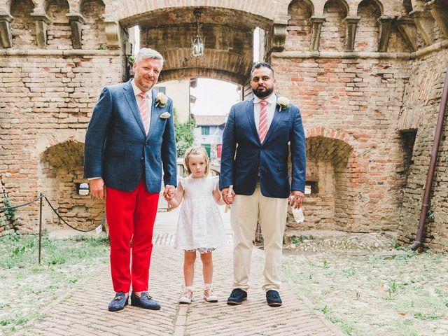 Il matrimonio di David e Kerri a Dozza, Bologna 62