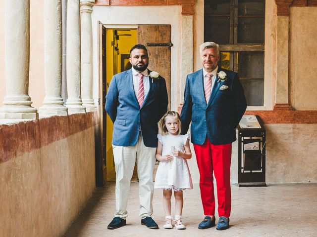 Il matrimonio di David e Kerri a Dozza, Bologna 65