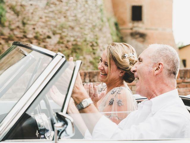 Il matrimonio di David e Kerri a Dozza, Bologna 68