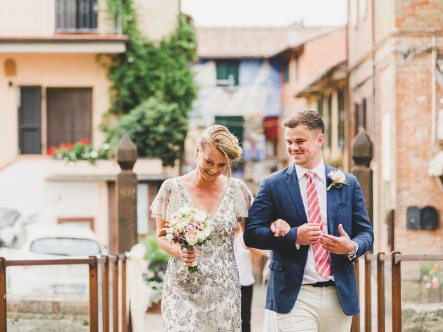Il matrimonio di David e Kerri a Dozza, Bologna 70