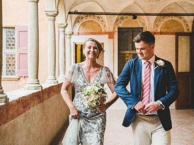 Il matrimonio di David e Kerri a Dozza, Bologna 71