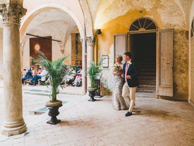 Il matrimonio di David e Kerri a Dozza, Bologna 72
