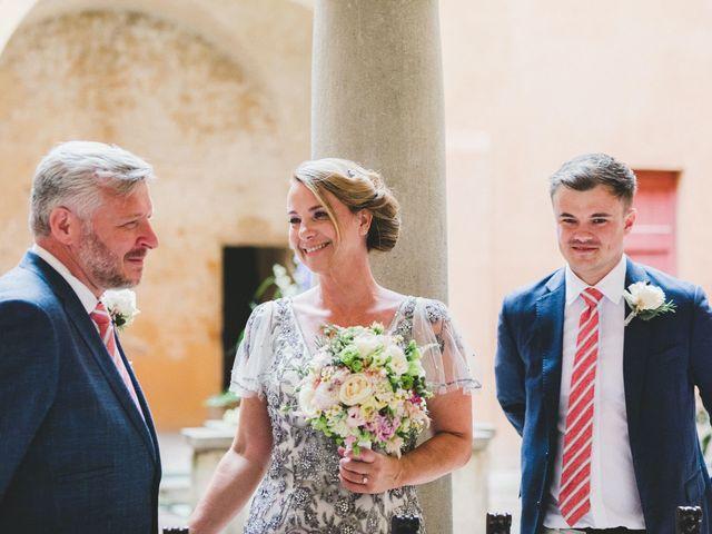 Il matrimonio di David e Kerri a Dozza, Bologna 77