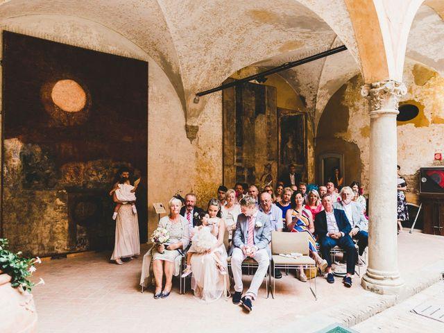 Il matrimonio di David e Kerri a Dozza, Bologna 81