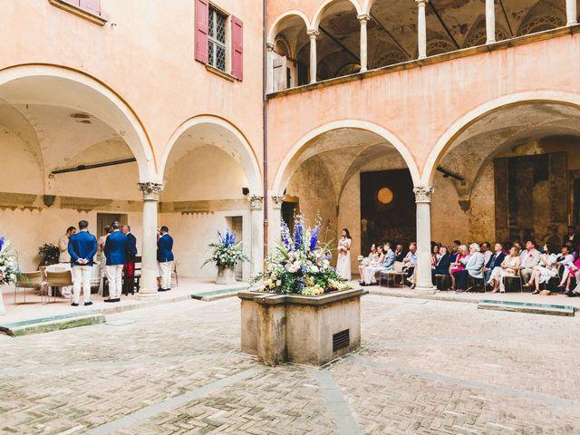 Il matrimonio di David e Kerri a Dozza, Bologna 82