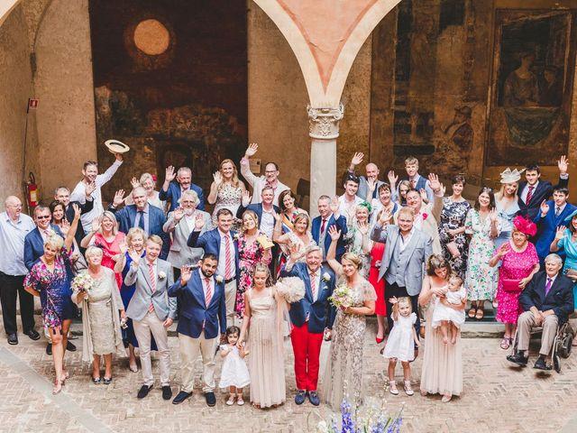 Il matrimonio di David e Kerri a Dozza, Bologna 95