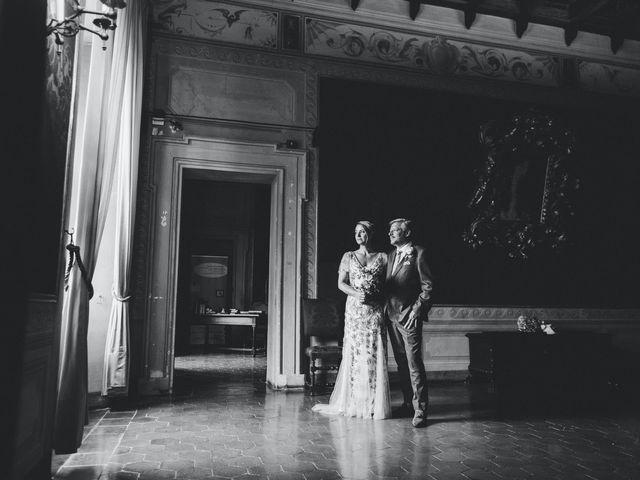 Il matrimonio di David e Kerri a Dozza, Bologna 1
