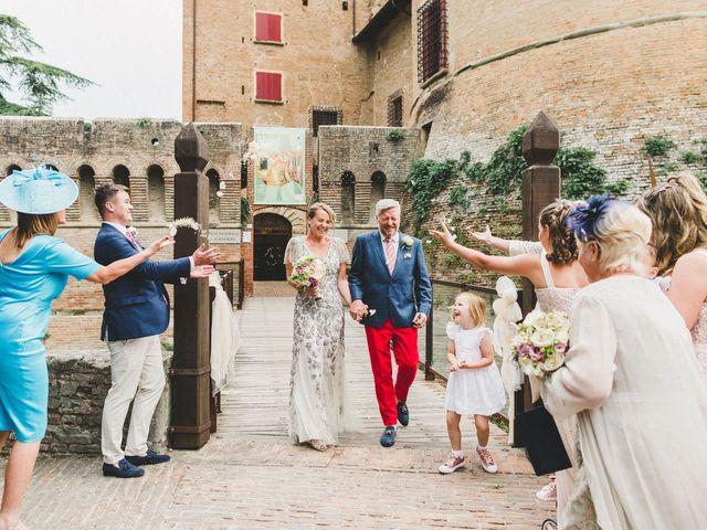 Il matrimonio di David e Kerri a Dozza, Bologna 103