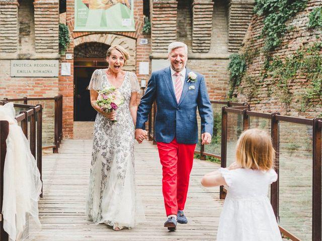 Il matrimonio di David e Kerri a Dozza, Bologna 104